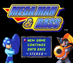 Mega Man and Bass