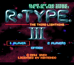 R-Type III: The Third Lightning