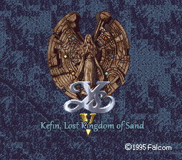 Ys V: Kefin, Lost City of Sand
